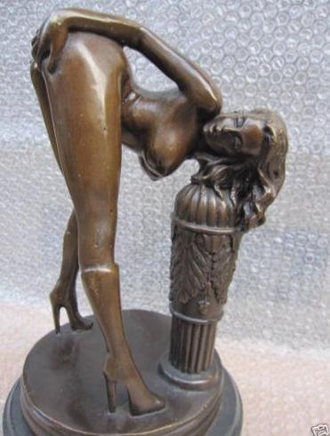 old Erotic Sculpture NuWoman Jordan de Sexy Bronze Statue|statue of liberty sculpture|sculpture and|sculpture bronze - title=