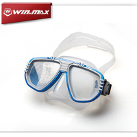 WINMAX New Arrival Swimming Scuba Diving Set Snorkeling Anti fog Goggles Dive Mask Full dry Diving Mask