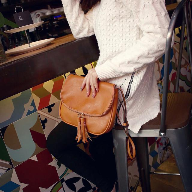 2017 fashion bolsa feminina brand female shoulder cross body bags Women pu leather bag high quality women messenger bags
