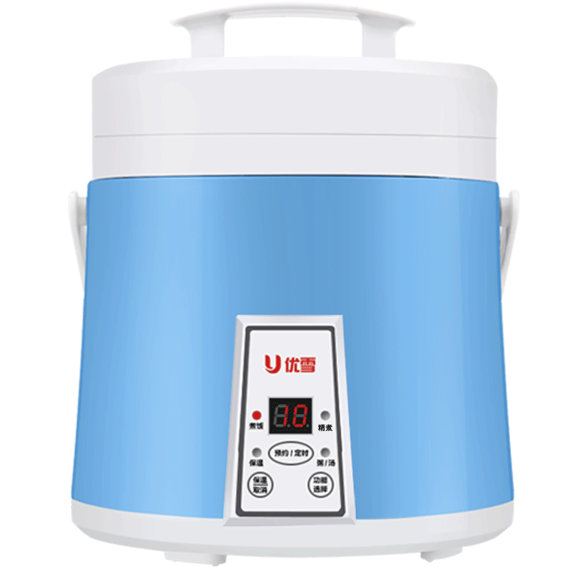 CFXB16-300A Rice Cooker Intelligent 2-6 People Fully Automatic Small Mini Cooking Rice Cooker 1.6L 300W Cook 5-6 Bowl of Rice productivity of rice