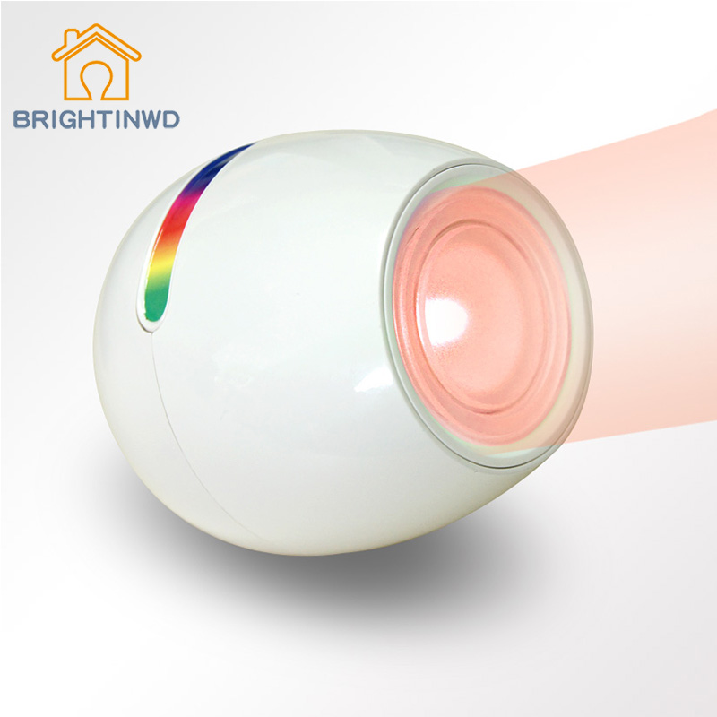 256 colors changing led lamp night light living color change mood light with touch screen scroll cheap mood lighting
