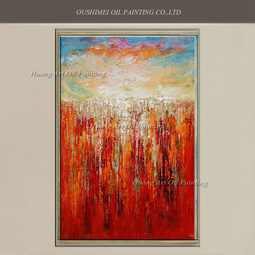 Online buy wholesale abstract art red from china abstract for Buy abstract art online