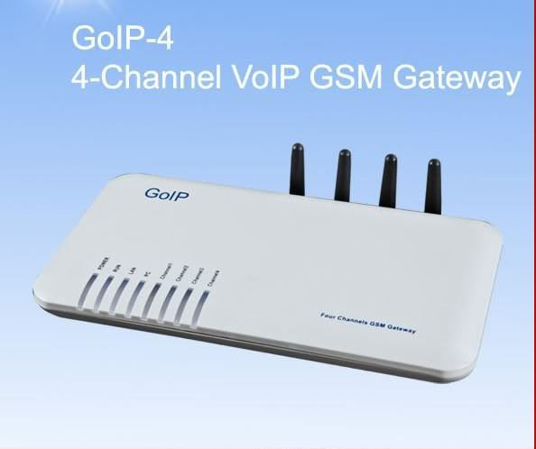 HOT Sales goip 4 gsm gateway Quad Band GOIP-4 GSM Voip gateway 4 SIM Card/Channels Goip GSM VOIP wireless terminal single port voip gsm gateway goip gateway goip 1 imei change directly goip voip gateway gsm gateway