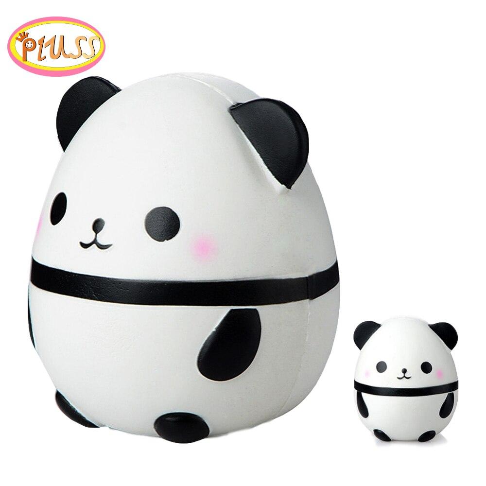 Automobiles 15cm Jumbo Kawaii Squishy Big Soft Panda Cute Bear Squeeze Squishi Slow Rising Toy Relieves Stress Anxiety Phone Strap