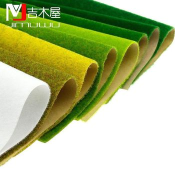 25x25cm 50x50cm 50x100cm  Landscape Grass Mat for Model Train Not Adhesive Paper Scenery Layout Lawn Diorama Accessories