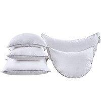 White moon Pillow goose feather cushion core for car headrest sofa