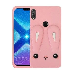 Image 4 - Stoßfest Telefon fall für Huawei Ehre 8X mode plain silikon Schmutz beständig Antiklopffähigkeit für Honor 8X max telefon tasche zurück abdeckung