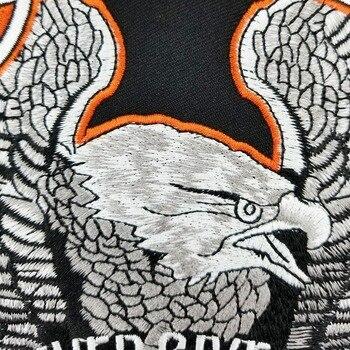 Hierro En Parches Personalizados | Lucha Por La Libertad Nunca Dejar El Parche De águila Militar Bordado Personalizado De Hierro En Parche Trasero Completo Para La Camisa De Corte De Chaqueta