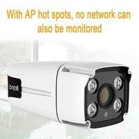 LESHP Wireless Surveillance Camera Waterproof IP67 960P Full color Night Vision IP Camera Home Security via APP Remote Control