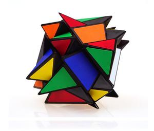 Image 2 - Yongjunさんyj軸マジックキューブ変更不規則なjinggangルービックマジックスピードキューブつや消しステッカーyj 3 × 3 × 3ホット販売