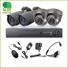 4CH CCTV Kit DVR HDMI 1200TVL IR Weatherproof Outdoor HD Analog Cameras Home Security Surveillance System