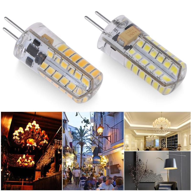 GY6.35 LED Bulb 12V AC/DC 2.5WLED Lamp Corn Light 48LED SMD 2835 Lamps for Crystal Chandelier Hanging Light