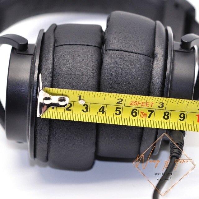 Almohadillas de espuma para el oído súper grueso, almohadillas de repuesto para Audio, tecnología ATH M50X, ATH M50X M50, ATH M50