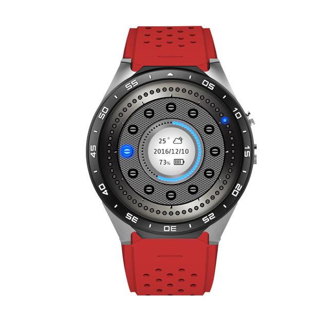 3G WCDMA Kw88 Smart Watch Android 5.1 Phone Bluetooth Smartwatch Relogios Watch Reloj Google Playstore GPS WCDMA Wifi Camera