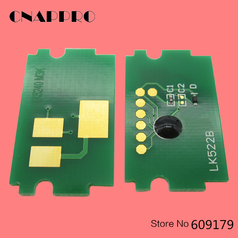 5 Set TK5230 TK5232 TK5234 Toner Chip For Kyocera ECOSYS P5021cdn P5021cdw M5521cdn M5521cdw P5021 5021cdn Reset Cartridge Chips