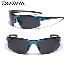 Daiwa Men's Polarized Sunglasses Sports Glasses Cycling Fish
