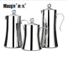 Macgle 1.2L Große Kapazität Hohe Qualität Edelstahl Französisch Presse Topf Kreative Kaffee Werkzeuge Kaffeekanne Teekanne Kostenloser Versand