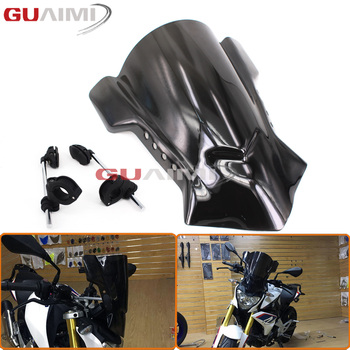 "Windshield Windscreen 7/8"" & 1"" & 1 1/8"" Handlebar Mount For Ducati Monster 1100/EVO 11-13 Monster 1200/s 14-16 Monster 797 2017"