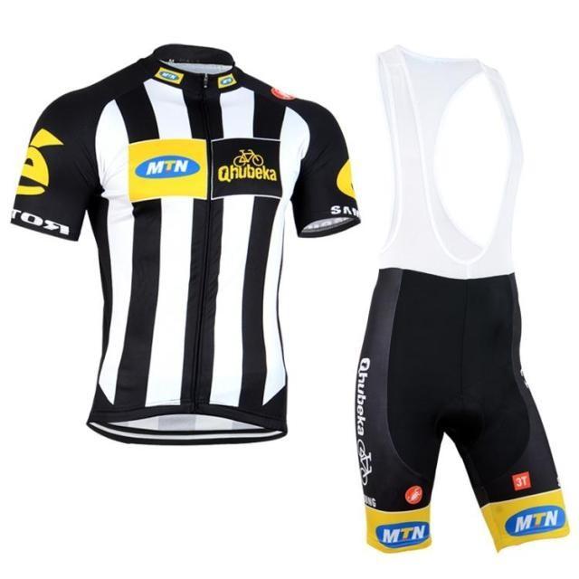 2015 MTN Qhubeka Pro Team Cycling Jersey (BIB) Shorts Bicycle Wear ... e5c59ff9c