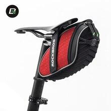 ROCKBROS Bike Bag MTB Bicycle Seat Saddle Bag Fixed Gear Mountain Road Cycling Rear Tail Bag