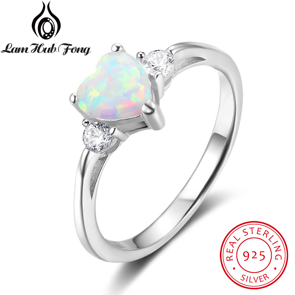 Classic Opal Engagement Rings