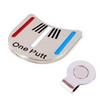1 шт. маркер для мяча для гольфа, магнит, заколка на шляпу, инструмент для выравнивания,, маркер для мяча