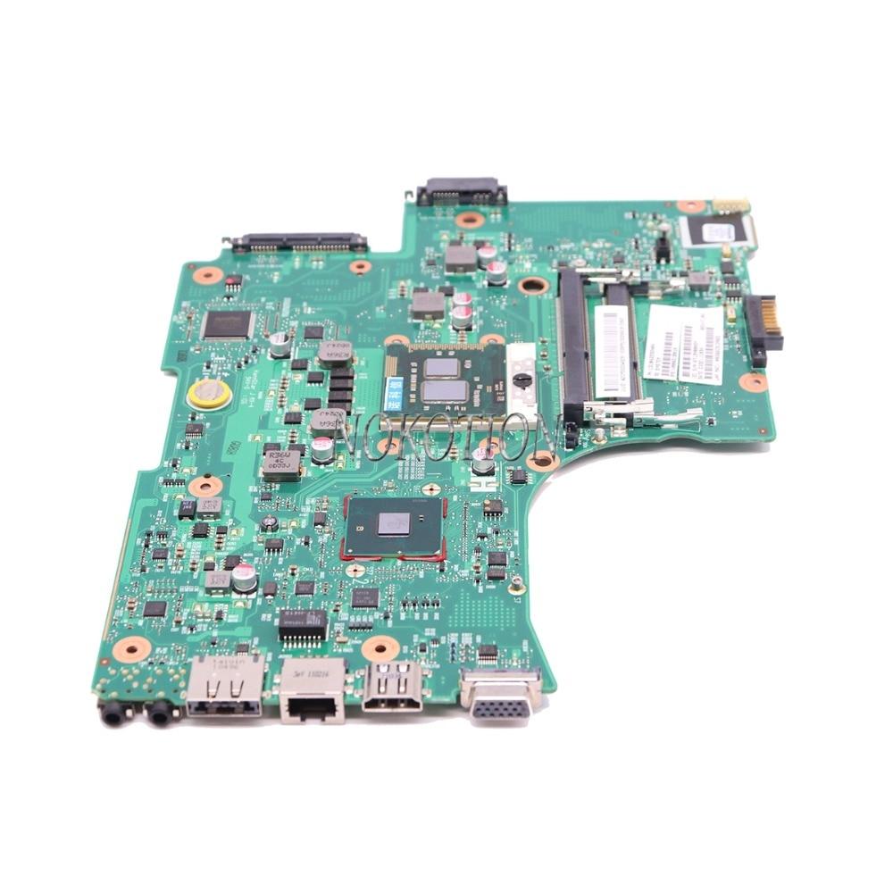 Image 2 - NOKOTION ノートパソコンのマザーボード東芝衛星 L650 L655 1310A2332402 V000218080  V000218010 HM55 UMA メインボード DDR3 送料 CPU    グループ上の  パソコン
