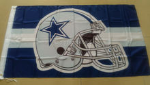 Dallas Cowboys  Helmet  Flag  150X90CM Banner 100D Polyester3x5 FT flag brass grommets 001, free shipping