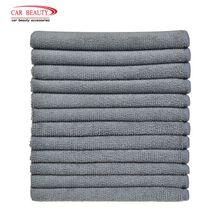 12x12 cali chłonny ręcznik z mikrofibry myjnia samochodowa Auto polski i wosk pielęgnacja samochodu stylizacja Detailing podkładka Cleaner 12 Pack