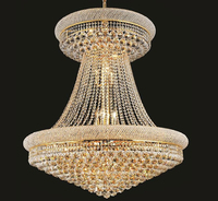 Phube Lighting French Empire Gold Crystal Chandelier Lustre Chrome Chandeliers Modern Chandeliers Light Lighting Free Shipping