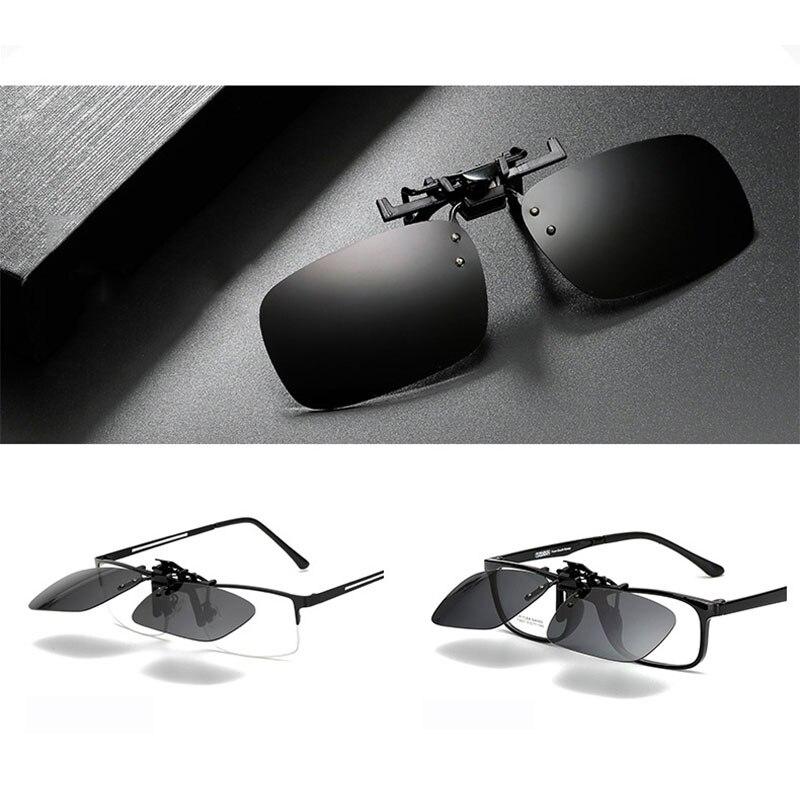 Рыбалка использовать солнцезащитные очки клип для очков на Стиль Солнцезащитные очки UV400 поляризационные Рыбалка верховой езды и Пешие прогулки Очки День/ночное видение очки