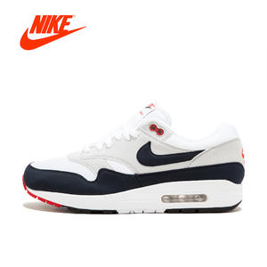 4c3c47cc7b7ff7 Nike AIR MAX 1 ANNIVERSARY Mens Running Shoes Sneakers Authentic Sport  Outdoor 908375