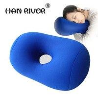 HANRIVER Sonno cuscino da viaggio gonfiabile u sonno cuscino cuscino del collo cuscino cuscino aereo esterno portatile multifunzionale di vendita caldo