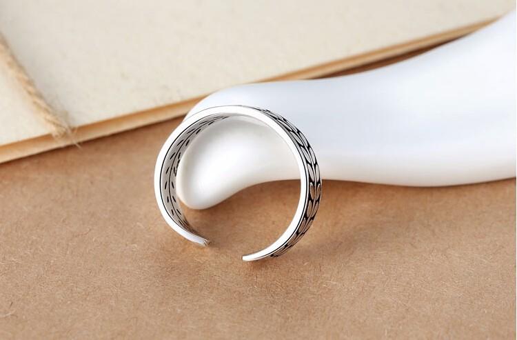 Novi dolazak visokokvalitetni retro stil 925 srebra dame podesive - Fine nakit - Foto 5