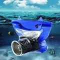 Водонепроницаемый DSLR SLR цифровая Камера Подводный бокс Чехол Сухой Мешок Для Canon для Nikon Дайвинг Плавание С Плавающей сумка для Фотокамеры