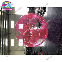 Best selling inflatable transparent water walking ball,2m diameter inflatable aqua ball for children
