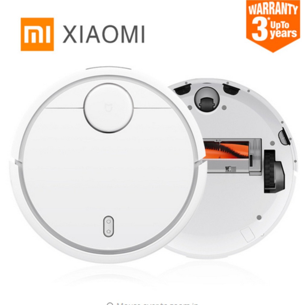 Original XIAOMI MI Robot Vacuum Cleaner for Home Automatic Sweeping Dust Sterilize Smart Planned Mobile App Remote Control все цены