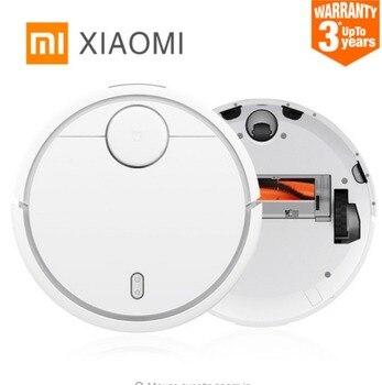 Оригинальный Xiaomi Mi робот Пылесос для дома автоматическая Уборка Пыли стерилизовать Smart планируется мобильное приложение Дистанционное упр...