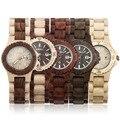 Bewell W020A Analógico Data de Exibição de Madeira De Madeira Relógio De Quartzo relógio de Pulso das Mulheres Quente!
