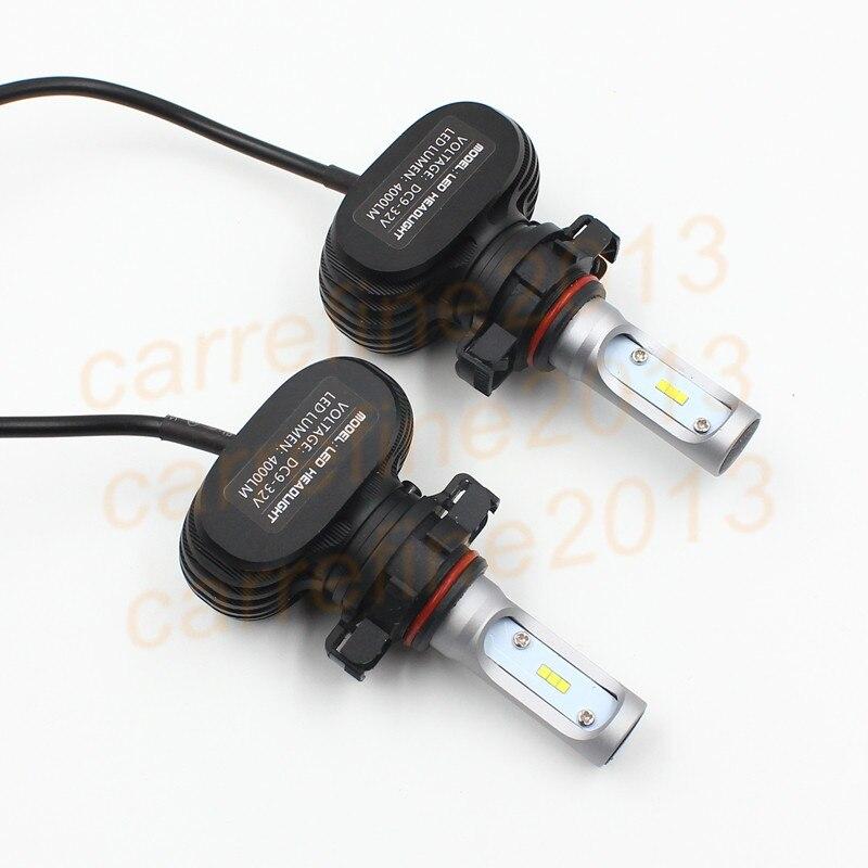 50w 8000LM h16 5202 Auto LED Headlight Bulb Socket LED Headlights Kits 5202 H16 Car Auto LED Head Light Bulb H16 LED Headlights