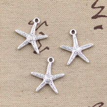 10pcs Charms starfish 20x18mm Antique Making pendant fit,Vintage Tibetan Silver,DIY bracelet necklace(China)