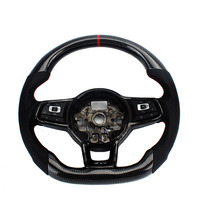 Carbon Fiber Replacement Steering Wheel For FIT VW Golf 7 GTI Golf R MK7 Jetta Passat Polo GTI Scirocco 2014 2018