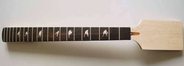 New High Quality Unfinished electric guitar neck    Solid wood   fingerboard NEW model 1pcs #4 dior сандалии
