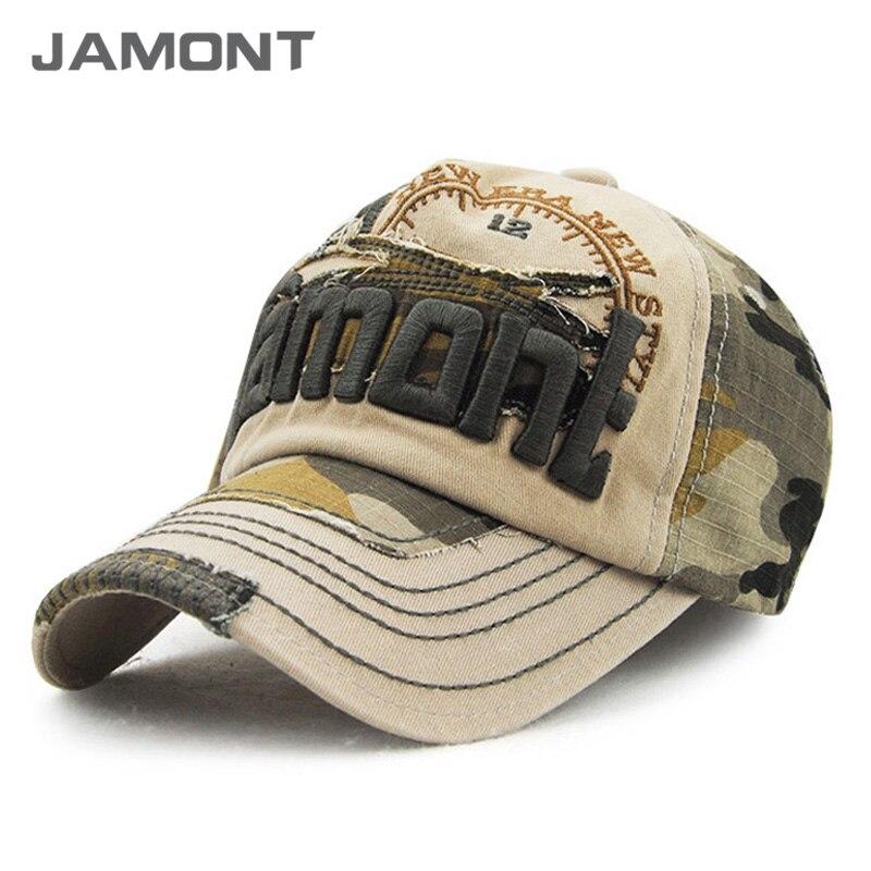Prix pour [Jamont] vintage camouflage casquette de baseball 2017 snapback casquettes chapeaux pour hommes et femmes z-3123