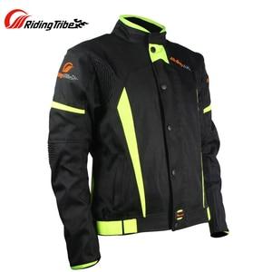 Image 4 - חדש מגיע! רכיבה שבט שחור לשקף מירוץ חורף מעילים ומכנסיים, אופנוע עמיד למים מעילי חליפות מכנסיים