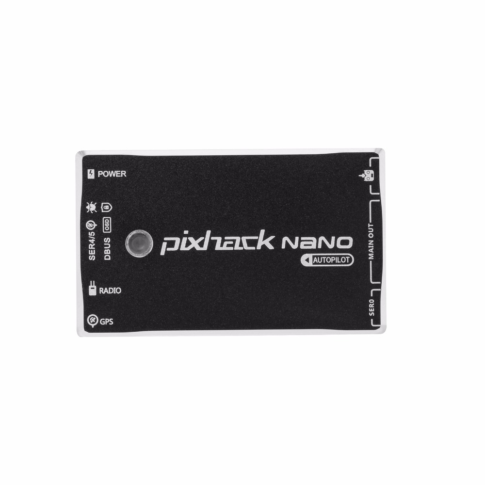 CUAV Mini Flight Controller Pixhack NANO PIX Open Source  with M8N GPS for Quadcopter Drone Helicopter free shipping carbon fiber zmr250 c250 quadcopter 2204 2300kv motor mini blheli 20a esc f3 flight controller 5045 prop for qav250