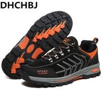 Anti collision Toe Hiking Shoes Men Rax Trekking Shoes Durable & Non slip Outsole Sneakers Men Professional Outdoor Sports Men