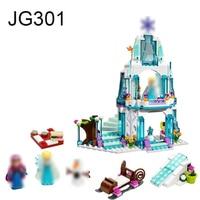 JG301 Anna Elsa Snow Queen JP79168 Elsa S Sparkling Ice Castle Building Blocks Brick Compatible Friends