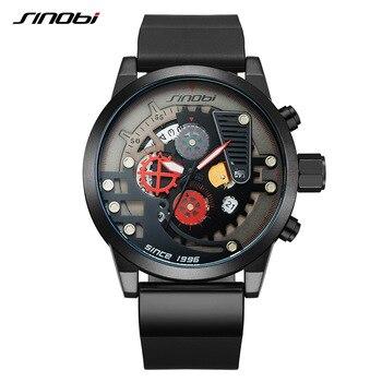 a3d5b9f17b8f Relojes deportivos para hombre de lujo de marca SINOBI