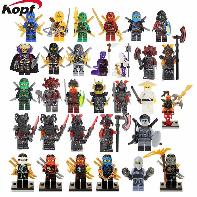 Super Heroes Ninja NYA Lloyd Krux The wei Snake Kai Samurai X Vermin Wu Kai Heavenly Joy Building Blocks Bricks Kids Gift Toys 2018 hot ninjago building blocks toys compatible legoingly ninja master wu nya mini bricks figures for kids gifts free shipping